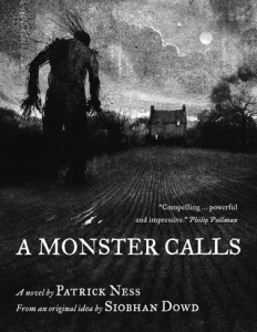 A Monster Calls book