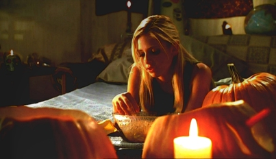 buffy halloween s4 pumpkin carving