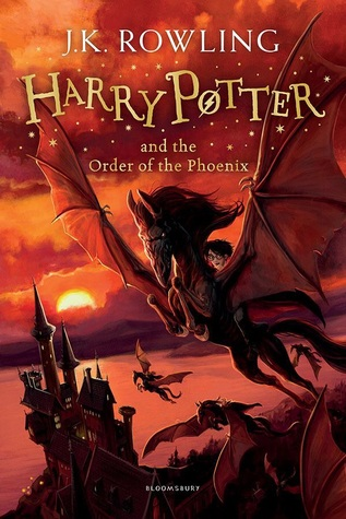 Harry Potter 5 red cover