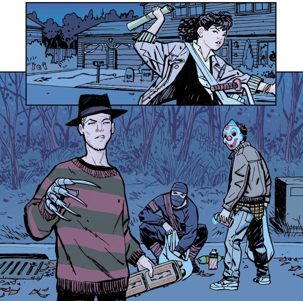 paper girls 1 80s horror
